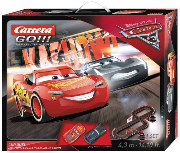 Car62421 Go Disney Cars 3 Cup Duel Slot Car Set 4 3 Meters Model Tech Hobbies